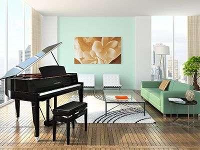 AvantGrand N3 in Living Room