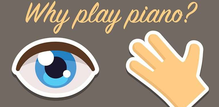 Benefits of playing piano