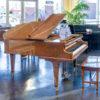 Chickering Grand Piano in Polished Mahogany - 1938 - 163560